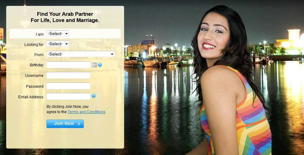 List of free arab dating sites