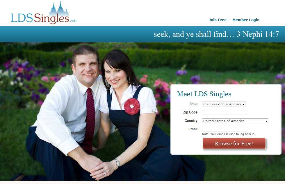 LDS Singles Online Personals - LDS Dating for LDS Singles