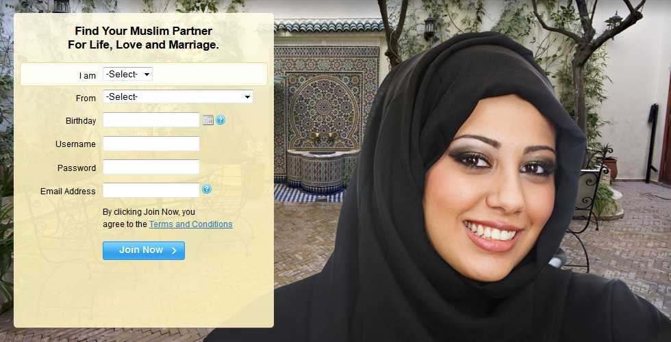 Muslim dating site funny