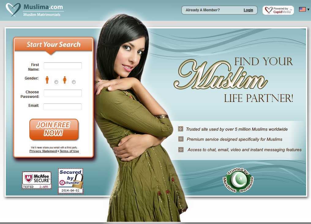 100 free islamic dating sites