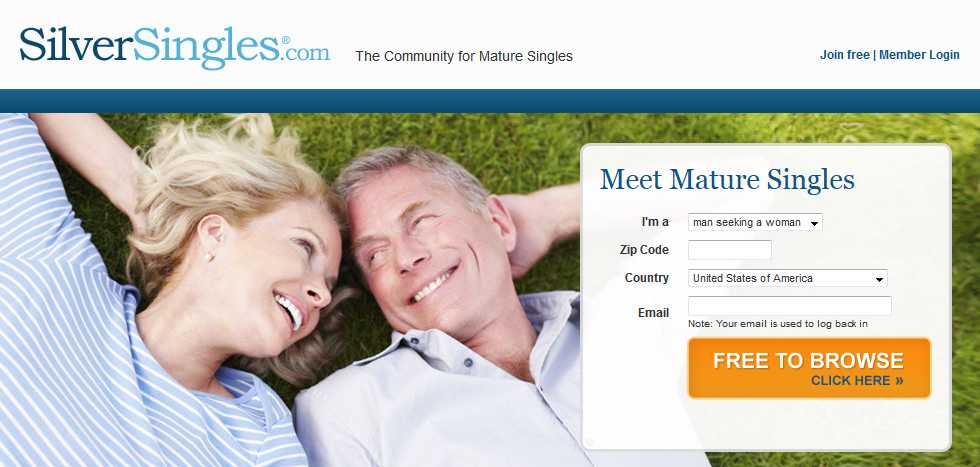SilverSingles.com dating review